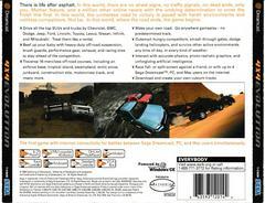 Back Of Case | 4x4 EVO Sega Dreamcast