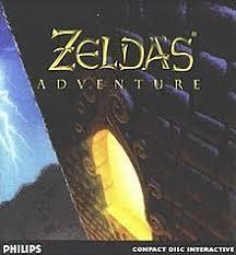 Zelda'S Adventure - Front   Zelda's Adventure CD-i