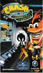 Manual - Front   Crash Bandicoot The Wrath of Cortex Gamecube