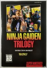 Manual | Ninja Gaiden Trilogy Super Nintendo