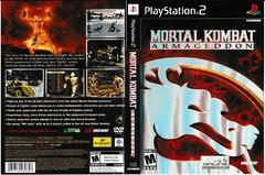 Artwork - Back, Front | Mortal Kombat Armageddon Playstation 2