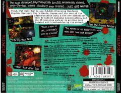 Back Of Case | Re-Loaded Playstation