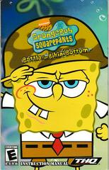 Manual - Front | SpongeBob SquarePants Battle for Bikini Bottom Playstation 2