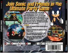 Back Of Case | Sonic Shuffle Sega Dreamcast