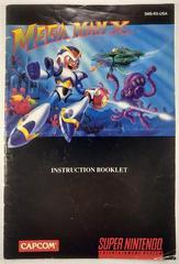 Manual | Mega Man X Super Nintendo
