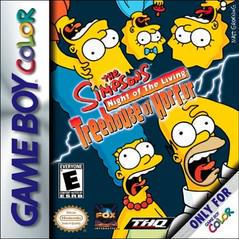 The Simpsons Night of the Living Treehouse of Horror GameBoy Color Prices