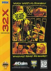 WWF Raw Sega 32X Prices