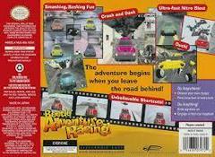 Beetle Adventure Racing - Back   Beetle Adventure Racing Nintendo 64