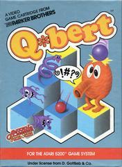 Q*Bert - Front   Q*bert Atari 5200