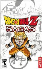 Manual - Front | Dragon Ball Z Sagas Playstation 2