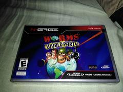 CASE ARTWORK   Worms World Party N-Gage
