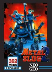 Metal Slug 2 Neo Geo Prices