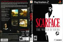 Artwork - Back, Front | Scarface the World is Yours Playstation 2