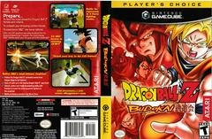 Artwork - Back, Front (Players Choice) | Dragon Ball Z Budokai Gamecube