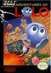 Adventures Of Lolo - Front | Adventures of Lolo NES