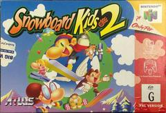 Snowboard Kids 2 PAL Nintendo 64 Prices