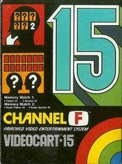 Videocart 15 Fairchild Channel F Prices