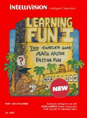 Learning Fun I Intellivision Prices