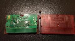 Pokemon Ruby Cartridge And Board Back | Pokemon Ruby GameBoy Advance