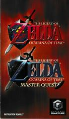 Manual - Front | Zelda Ocarina of Time Master Quest Gamecube