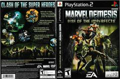 Artwork - Back, Front | Marvel Nemesis Rise of the Imperfects Playstation 2
