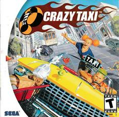 Manual - Front | Crazy Taxi Sega Dreamcast