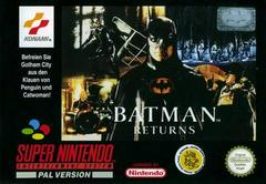 Batman Returns PAL Super Nintendo Prices