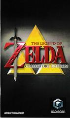 Manual - Front | Zelda Collector's Edition Gamecube