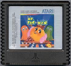 Ms. Pac-Man - Cartridge   Ms. Pac-Man Atari 5200