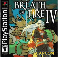 Manual - Front | Breath of Fire IV Playstation
