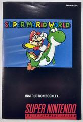Manual | Super Mario World Super Nintendo