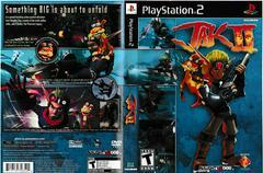 Artwork - Back, Front | Jak II Playstation 2