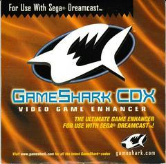 Sleeve - Disc Holder   GameShark CDX Sega Dreamcast