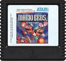 Mario Bros - Cartridge   Mario Bros. Atari 5200