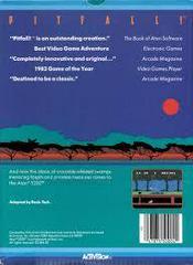 Pitfall - Back | Pitfall Atari 5200