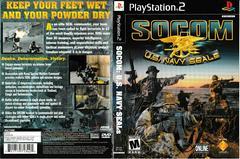 Artwork - Back, Front | SOCOM US Navy Seals Playstation 2