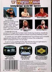 WWF Wrestlemania - Back | WWF Wrestlemania NES