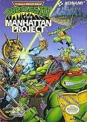 Teenage Mutant Ninja Turtles III - Front | Teenage Mutant Ninja Turtles III The Manhattan Project NES