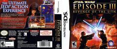 Artwork - Back, Front   Star Wars Episode III Revenge of the Sith Nintendo DS
