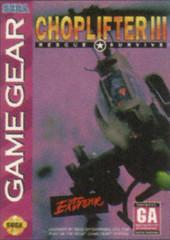 Choplifter III Sega Game Gear Prices