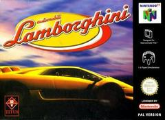 Automobili Lamborghini PAL Nintendo 64 Prices