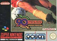 90 Minutes European Prime Goal PAL Super Nintendo Prices