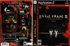 Artwork - Back, Front | Fatal Frame 2 Playstation 2