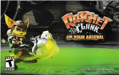 Manual - Front | Ratchet and Clank Up Your Arsenal Playstation 2
