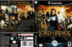 Artwork - Back, Front | Lord of the Rings Return of the King Gamecube
