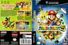 Artwork - Back, Front | Mario Party 5 Gamecube