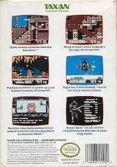 G.I. Joe A Real American Hero - Back | G.I. Joe: A Real American Hero NES