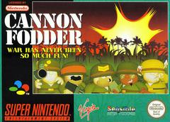 Cannon Fodder PAL Super Nintendo Prices