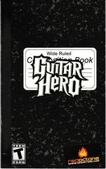 Game Manual - Front | Guitar Hero [Guitar Bundle] Playstation 2