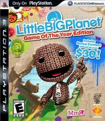 Original Black Label Release | LittleBigPlanet [Game of the Year] Playstation 3